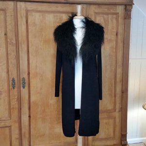 Belldini long black Cardigan Size 8